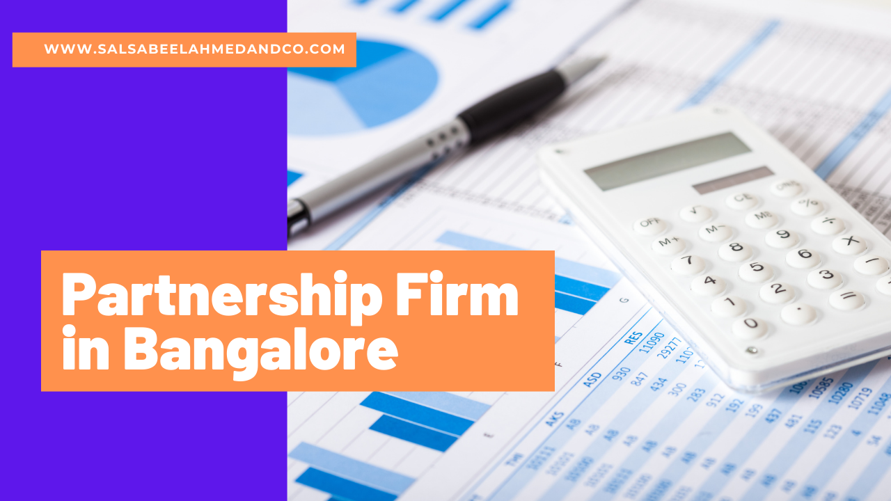 Partnership Firm in Bangalore